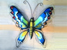 Bali Wholesale Metal Wall Art Butterfly Wall Decor