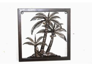 Bali wholesale Metal Wall Decor Coconut Wall Decor