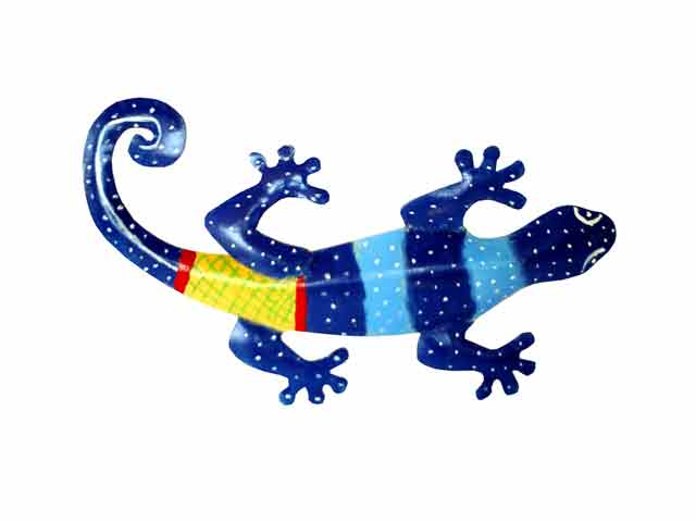 Bali wholesale metal wall art gecko wall decor